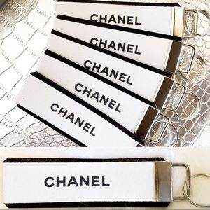 Other - 🖤Authentic CHANEL🎀white and black ribbon 🖤